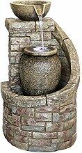 Dehner Polyresin Brunnen Muretto mit LED