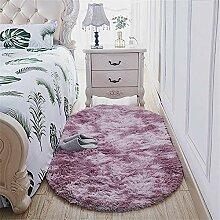 Deike Mild Oval Plüschteppich Teppiche