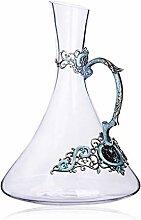 Dekanter Bar Rotweinglas Kristall Glas Anzug
