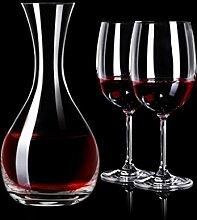 Dekanter Bleifrei Kristall Glas Rotweinglas