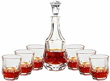 Dekanter Whisky Cup Weinflasche Anzug