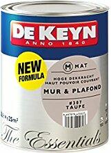 DEKEYN 32979411563 Satin Wandfarbe für Murs und