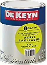 DEKEYN 3297970999107 Satin Wandfarbe, 167 mm, Grün