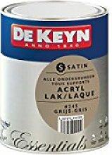 DEKEYN 3297970999589 Satin Wandfarbe, 245 mm, Grau