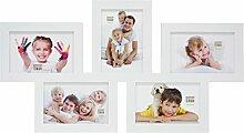 Deknudt Frames S65SY1 Mehrfach-Bilderrahmen, Holz,