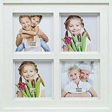 Deknut Bilderrahmen 20x20 Holz Weiss Bilderrahmen