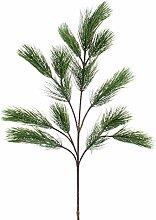 Deko Bonsai - Pinienzweig mit 18 Nadel - Zweigen, 90 cm - Künstlicher Zweig - artplants