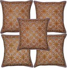 Deko/Design Traditionelle Handgemachte Baumwolle Kissenbezug 40x 40cm