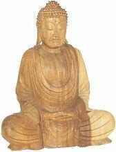 Deko Figur Buddha aus Soar Holz, 30cm,