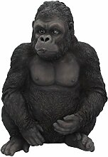 Deko Figur Gorilla AFFE Wildlife Dschungel Afrika