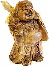 Deko Figur Happy Buddha Figur stehend, Statue
