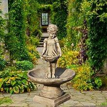 Deko Gartenbrunnen aus Stein