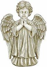Deko Gartenfigur betender Engel Grabengel Grabschmuck Gartendeko Figur Dekoration