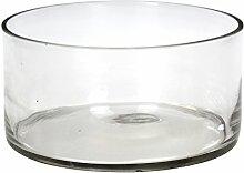 Deko Glas-Schale Rund XL