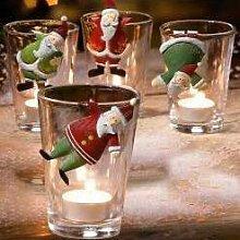 Deko Hänger Set Putzige Santas, Geschenkidee