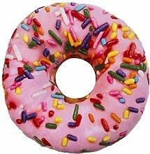 Deko-Kissen Donut 2 Modelle zur Auswahl 28 cm,