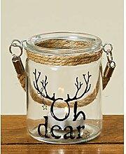 Deko-Kompanie Hängewindlicht OH Deer Weihnachten