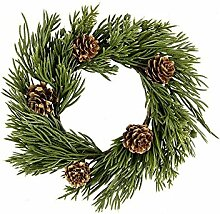 Deko-Kranz, Weihnachten 3, Ø 15cm, mit