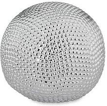 Deko-Kugel L, Porzellan, H 14,6 cm, Ø 15,7 cm