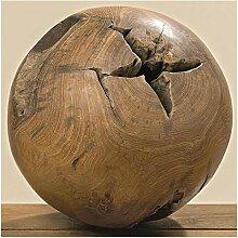 Deko-Kugel Taylor Teakholz natur (384690) Holzkugel