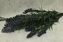 Deko LAVENDEL Bündel Busch Pflanze 40 cm