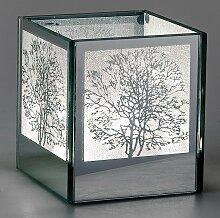 Deko Licht, Tisch Lampe MIRROR TREE H. 11cm