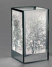 Deko Licht, Tisch Lampe MIRROR TREE H. 18cm
