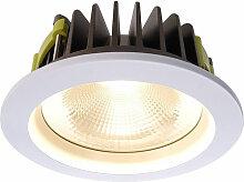 Deko-light - LED Deckeneinbauleuchte COB 170 in