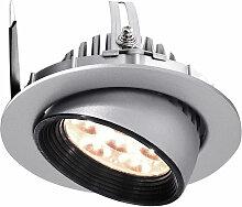 Deko-light - LED Deckeneinbauleuchte in Silber