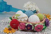Deko Ostereier handmade Haus Dekoration Geschenke zu Ostern Oster Schmuck schon