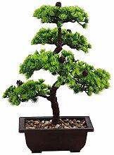 Deko Pflanze Bonsai Baum Kunstpflanzen im