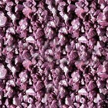 Deko-Splitt Violett 5-8mm 15 kg Sack - Zierkies Ziersplitt Dekoration Splitt - Steine zur individuellen Gestaltung