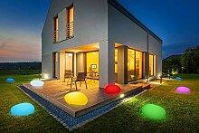 Deko-Stein mit LED Beleuchtung | kabellos | 8