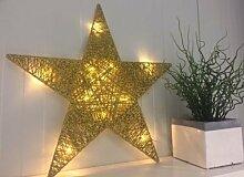 Deko Stern Advent LED Fenster Weihnachtsdeko