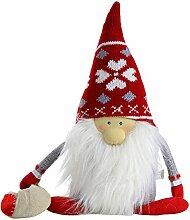 Deko Türstopper Weihnachtsmann Nikolaus mit