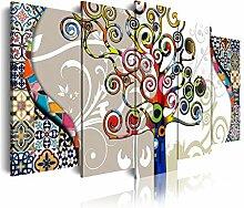 Dekoarte 482 - Modernes Bild auf Leinwand, die auf