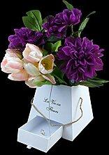 Dekobox mit Juteseil und Geschenkfach | Flowerbox