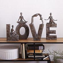 Dekobuchstaben 'LOVE'