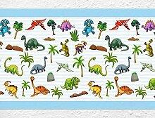 dekodino Kinderzimmer Bordüre Borte Dinosaurier