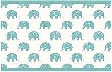 dekodino Kinderzimmer Bordüre Borte Elefanten