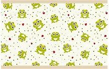 dekodino Kinderzimmer Bordüre Borte Frosch und