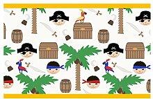 dekodino Kinderzimmer Bordüre Borte Piraten