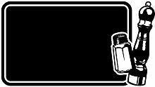 dekodino Tafelfolie Salz & Pfeffer