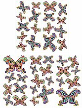dekodino® Wandtattoo Schmetterlinge Set