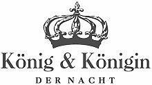 dekodino® Wandtattoo Spruch Schlafzimmer König