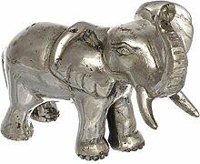 Dekofigur Elefant Glücksbringer Geschenk Metall