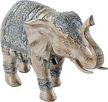Dekofigur Elefant, grau