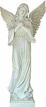 Dekofigur Engel groß 93 cm Gartendeko Grabengel Grabdekoration Wohnung Garten