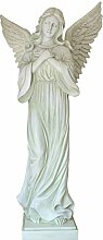 Dekofigur Engel groß 93 cm Gartendeko Grabengel