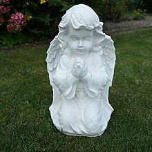 Dekofigur Engel Mädchen Weiß Grabschmuck